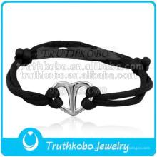 Bracelet en gros Bracelet Wrap Urne de crémation Bijoux Bracelet en acier inoxydable - Réglable