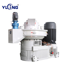 Chinese fir wood pellet machine
