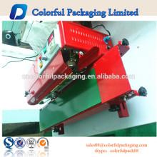 Pacote personalizado de cores personalizadas 220 V máquina de selagem a quente da máquina