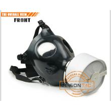 Padrão de máscara de gás EN136 militar com dispositivo bebendo
