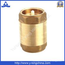 Латунный пружинный обратный клапан (YD-3001)