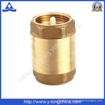 Válvula de retención de latón forjado de peso ligero (YD-3001)