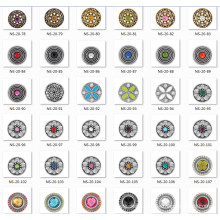 20mm-18mm Zinc Alloy Fashion Jewelry Snap Button