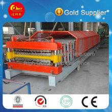 Hojas de acero dobles de la calidad de la exportación que hacen la máquina