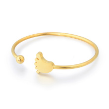 High Fashion Edelstahl Armband Weiblichen Dünnen Frühling Armband