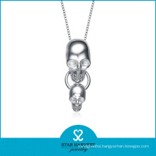 2015 925 Silver Plated Square Silver Men Chain Necklace (N-0098)