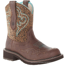 Cowgirl Boots Western Cowboy Genuine Leather Boot Shoes Booties Womens Boots Style Of 2020 Trendy Womens Flat Comfortable Boots