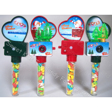 Flash Xmas Camera Viewer Toy Candy (120308)