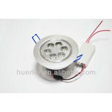 Huerler AC85-265v 90-100lm / w 95mm haute qualité led downlight 6w