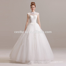 Neue Ankünfte 2016 Ballkleid-Entwerfer-wulstiges Schatz-Hochzeits-Kleid