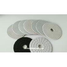 diamond polishing pad for floor process/ polishing, surface treatment, and stone