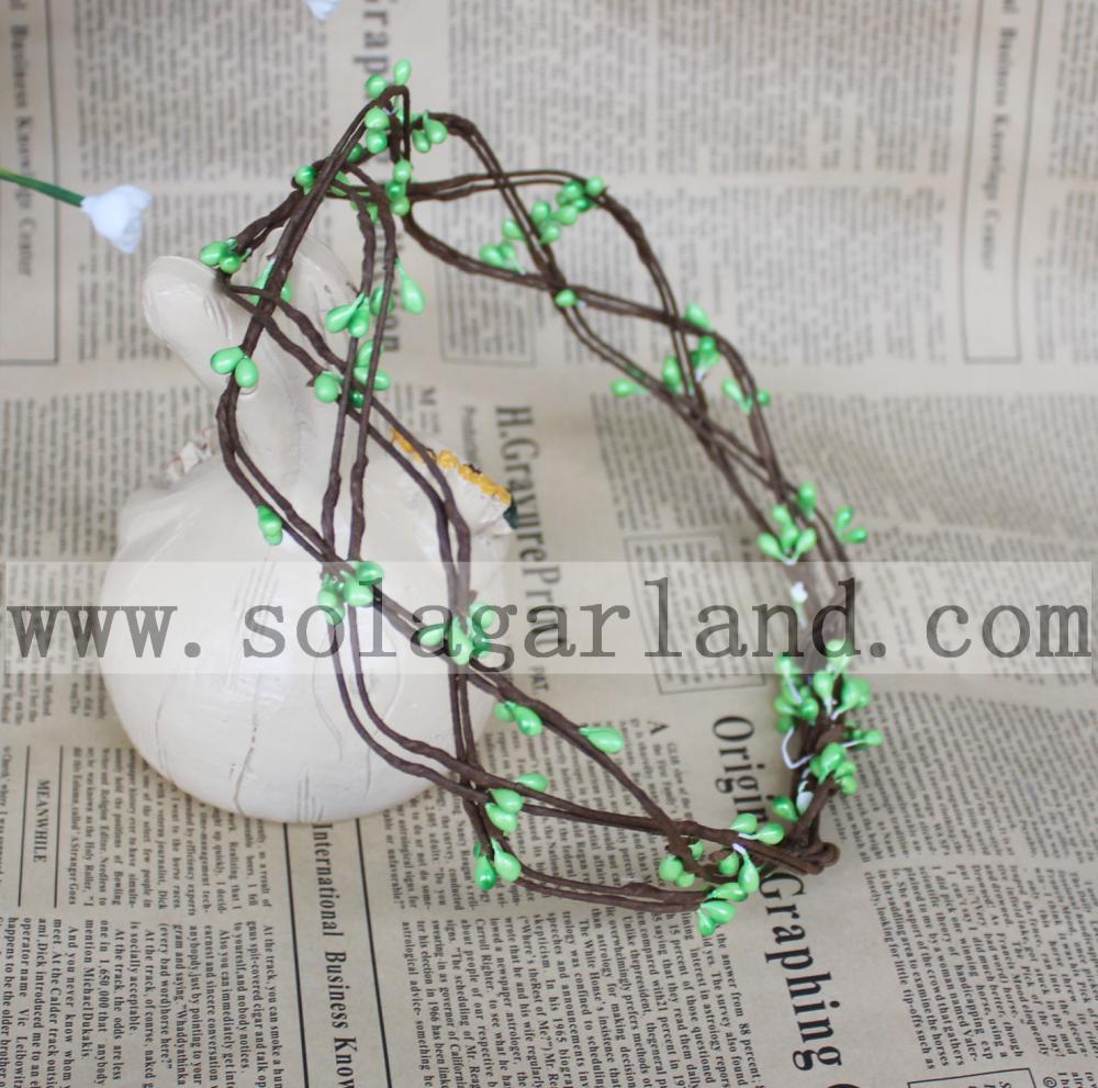 Flower Garland Green