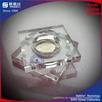 Großhandel Clear Acryl Geld-Frame