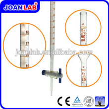 JOAN Lab Borosil Tube Burette Glass 50ML Com Fornecedores Stopcock