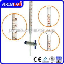 Джоан лаборатории Borosil трубка Бюретка стеклянная 50мл с краном поставщиков
