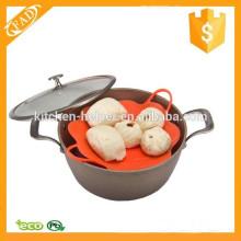 Profissional Soft e Flexível Silicone Cozinha Steamer