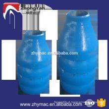 redutor da tubulação de aço carbono da pintura azul
