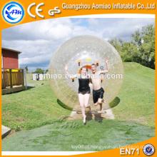 Maior diversão PVC / TPU bola humana hamster inflável kids zorb bola à venda