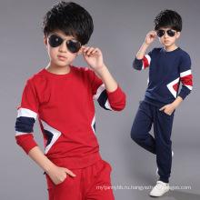 Повседневные костюмы одежда 2016 мода Детская одежда высокое качество мальчик