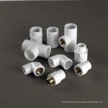 Conexiones roscadas de PVC-U para suministro de agua - Tubería plástica