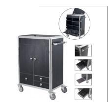 Hotel Room Service Trolley Housekeeping Cart (DD39)