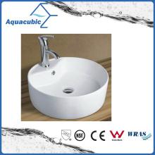 Ceramic Cabinet Art Basin and Vanity Top Hand Washing Sink (ACB8002)
