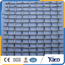 6mm opening crimped wire mesh for decorative