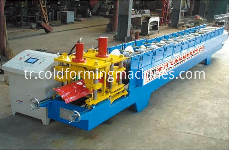 ridge cap roll forming 1
