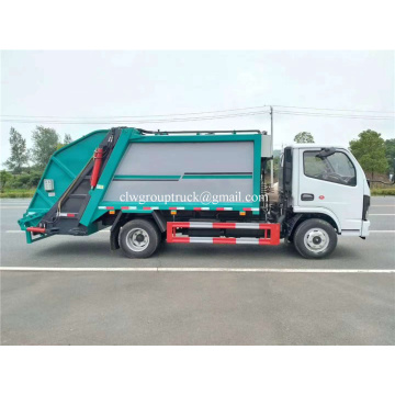 Waste collection vehicle euro 6 garbage collector truck