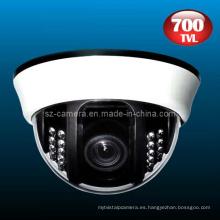 700tvl plástico de seguridad domo IR CCTV CCD cámara