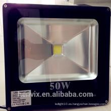 Impermeable poderoso precio competitivo solar ip65 50 vatios llevó luz de inundación