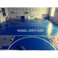 2017 New Product with High Quality Indoor PVC Interlock Floor for Indoor Sports