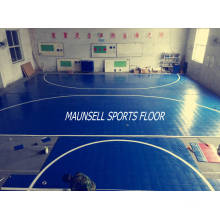 2017 Novo Produto com Alta Qualidade Indoor PVC Interlock Floor para Indoor Sports