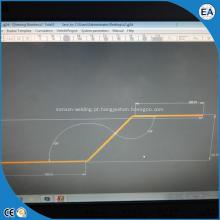 Máquina curvadora de barramento CNC automática e hidráulica