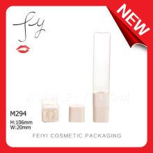 Flat Clear Plastic Lip Gloss Soft Tube
