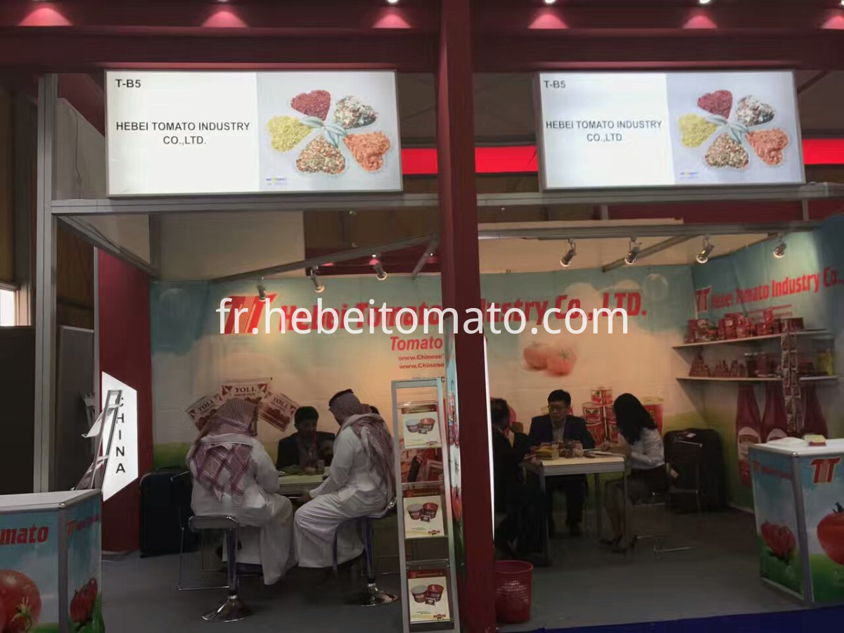 TOMATO PASTE Gulfood trade fair