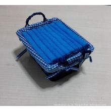 (BC-G1009) Werbegeschenk-Frottee-Tuch mit Aufbewahrungskorb