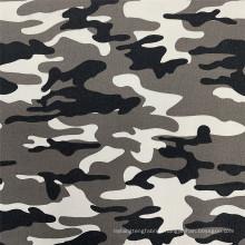 Shrink-Resistant Camouflage Printed Bengaline Jacket Fabric