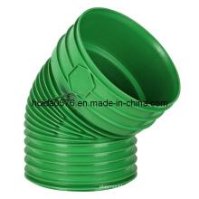 Пластиковые плесень / формы 45 градусов локоть