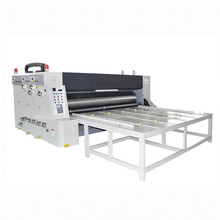 Excellent quality chain paperboard feeding flex printing machine price in indian