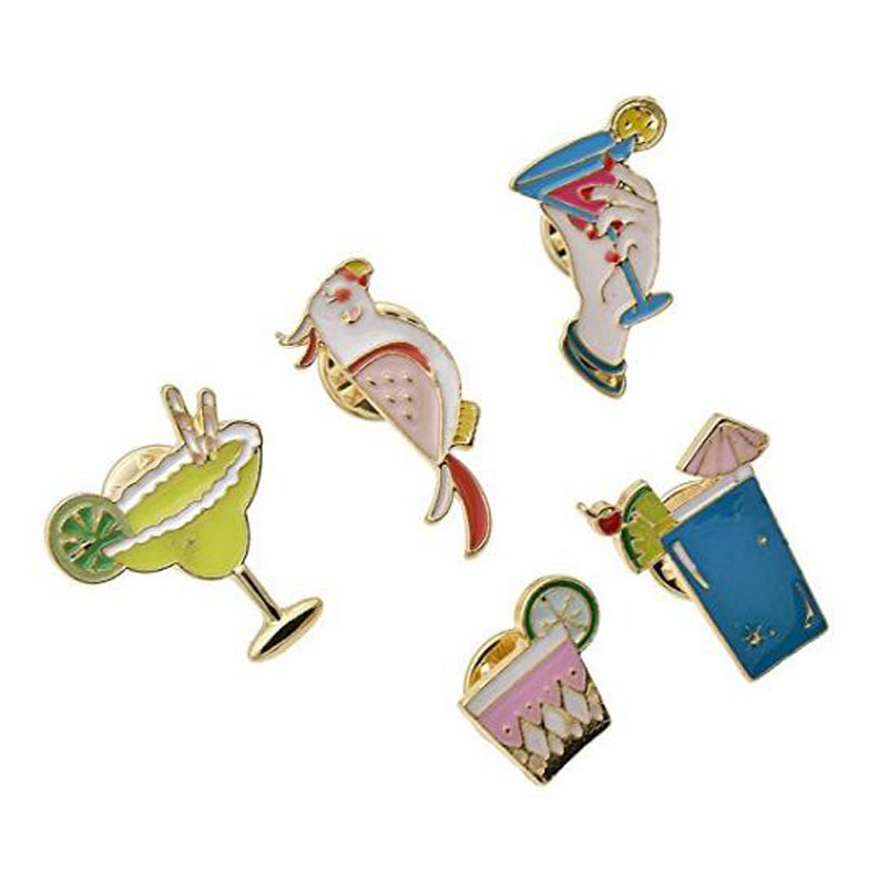 Cute Enamel Brooch Lapel Pin