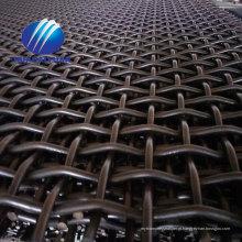malha de tela de aço da tela da malha 65Mn da tela de vibração da malha da areia do triturador