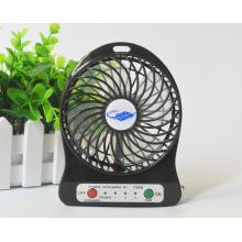 Mini recarregável portátil usb ventilador de mesa DC ventilador