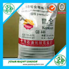 Kunlun Paraffin Wax Used in Making Candles and Shampoo