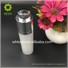 2017 heißer verkauf 30 ml airless pumpe flasche acryl kunststoff nachfüllbare kosmetische airless flasche mit pumpe abdeckung