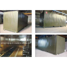Mobile PU Panel Kitchen Container (shs-fp-army003)