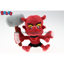 """7"""" Custom Toy Customized Made Stuffed Animal Red Devil Monster Toy Bos1128"""