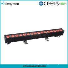 LED-lineare Beleuchtungs-Wand-Waschmaschine RGBW 4in1 80W im Freien für Brücke / Gebäude