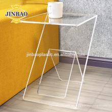 Soporte de exhibición de acrílico del buen precio de Jinbao 2m m para la venta de la tienda del signo