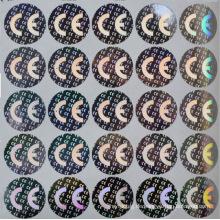 Wähler-ID-Karte mit Hologramm-Aufkleber